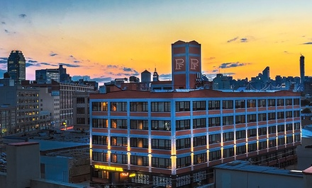 Stay at The Paper Factory Hotel in Long Island City, NY. Dates into February 2015