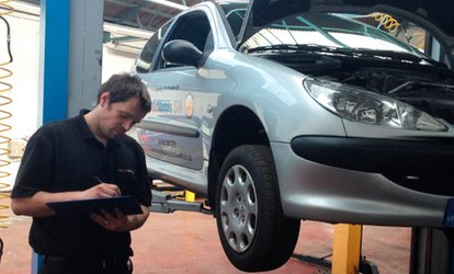 MOT Test (£18.95) Plus Brake Fluid Flush (£22.95) at Marshall Motors (Up to 71% Off)