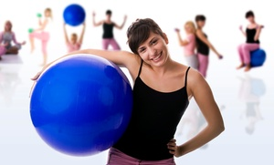Fun Spot Fitness: 8, 12, or 20 Kids' Group Fitness Classes at Fun Spot Fitness (Up to 56% Off)