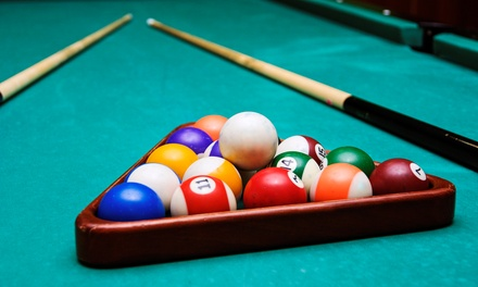 Two Hours of Billiards for Two or Up to Five with Sodas and Nachos at Hot Shot Billiards (Up to 78% Off)