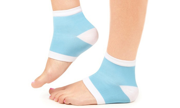 One Pair of Moisturizing Silky Socks with Callus-Removing Gel: One Pair of Moisturizing Silky Socks with Callus-Removing Gel