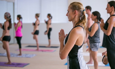 Five Classes or Two Weeks of Unlimited Classes at Bikram Yoga Fort Lauderdale (Up to 64% Off)