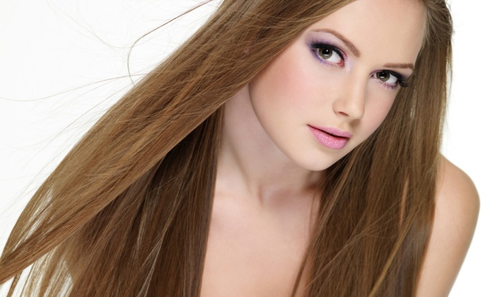 LGN Hair Studio - Samlarc: Keratin Hair-Smoothing Treatment with Optional Color Service at LGN Hair Studio (Up to 76% Off)