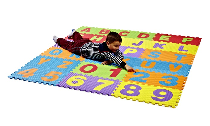 Tappeto puzzle per bambini groupon goods - Tappeto puzzle per bambini ikea ...