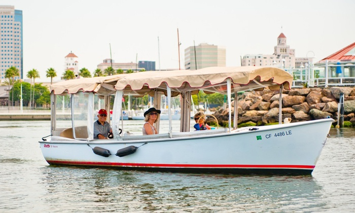 Long Beach Boat Rentals - Downtown Long Beach: Two-Hour Rental of an 18-Foot Electric Boat or 40 Hp Powerboat from Long Beach Boat Rentals (Up to 50% Off)