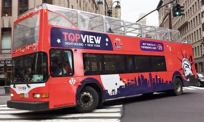 One-Day Hop-on Hop-off Double-Decker Bus Tour of Downtown Manhattan from CitySights NYC (up to 43% Off) See the sights of NYC, including Rockefeller Center or Empire State Building, from a double-decker bus that shows the city from a new angle.