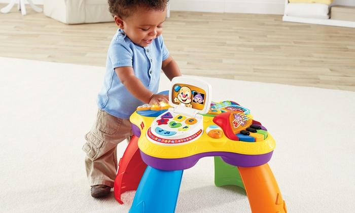 Fisher Price Laugh & Learn Puppy & Friends Learning Table: Fisher Price Laugh & Learn Puppy & Friends Learning Table. Free Returns.