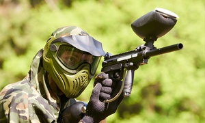 Skirmish Paintball Dorset: Paintball For Two (£8), Five (£16) or Ten (£24) at Skirmish Dorset (Up to 80% Off)