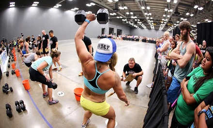 $10 for One Ticket to Naturally Fit Games 2015 at the Austin Convention Center on Saturday, June 6 ($20 Value)