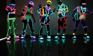 Glow Games: Glow In The Dark Sports Experience: Up to 64% Off Glow Games Admission for 2 or 4 at Glow Games: Glow In The Dark Sports Experience