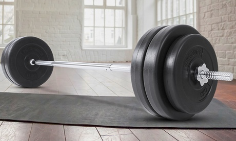 Korting 56,5 kg halterset