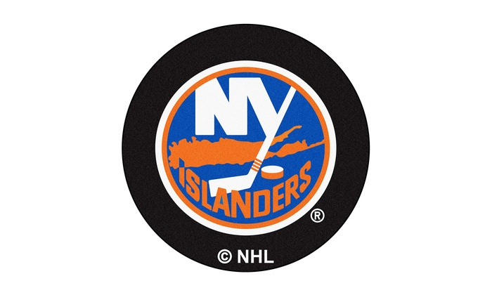 New York Islanders Puck Mat: New York Islanders Puck Mat