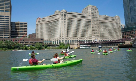 Kayak Tours of Chinatown for One or Two from Urban Kayaks (Up to 44% Off). Six Options Available.