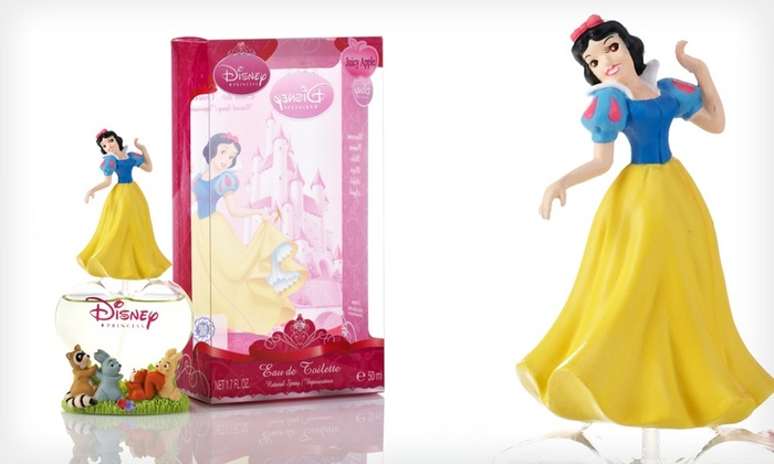 Disney Princess Girl's Fragrance: 50 ml Disney Princess Eau de Toilette Spray for Girls. Three Options Available.