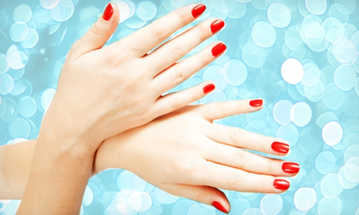 Nails by Illeen - St. Petersburg: Basic or Shellac Manicure with Signature Pedicure at Nails by Illeen (Up to 59% Off)