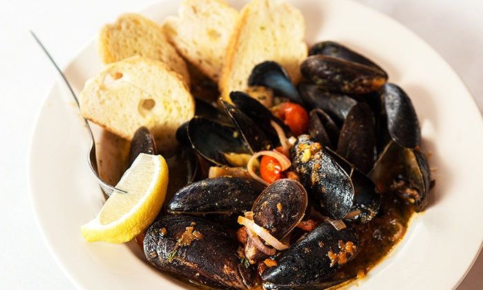 Molly Cool's Seafood Tavern - Kilbourn Town: Seafood and Drinks at Molly Cool's Seafood Tavern (50% Off). Two Options Available.