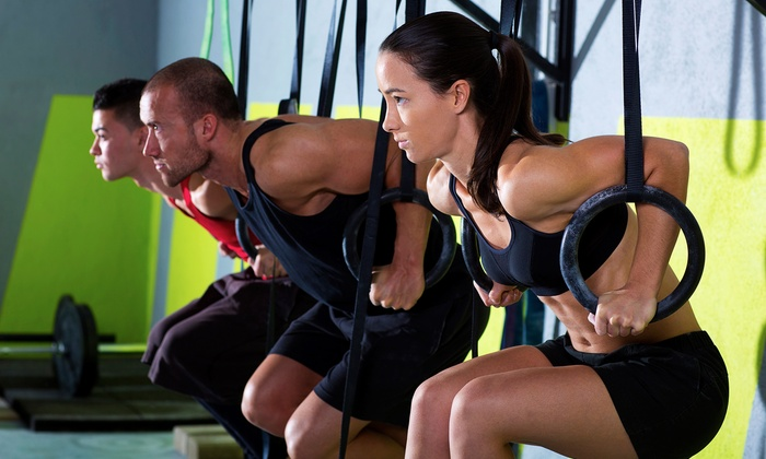 CrossFit South River - Edgewater: Eight Fitness Classes or One Month of Unlimited Fitness Classes at CrossFit South River (Up to 69% Off)
