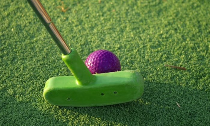 Blackbob Batting Cages and Miniature Golf - Olathe: $12 for Four Rounds of Mini Golf and 30 Minutes in Batting Cages ($24 Value)