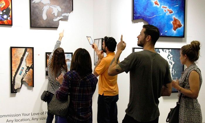 Art San Diego - Balboa Park Activity Center: One- or Three-Day Admission for Two to Art San Diego on November 6–8, 2015 (50% Off)