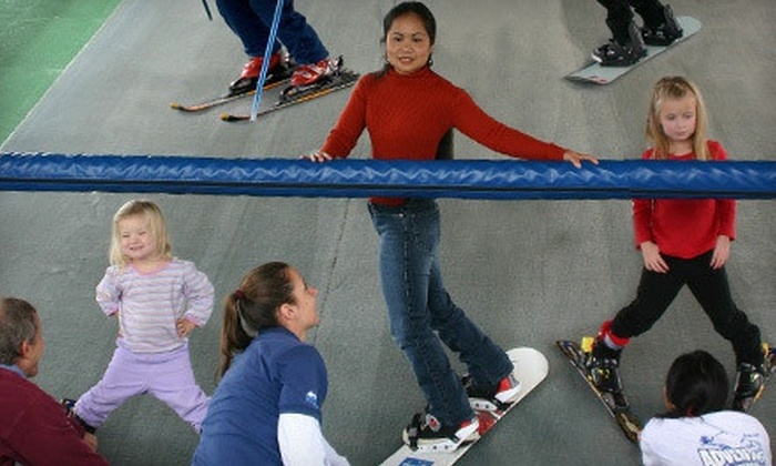 Adventure Ski & Snowboard School - Encinitas: $35 for a Private 25-Minute Skiing or Snowboarding Lesson at Adventure Ski & Snowboard School ($70 Value)