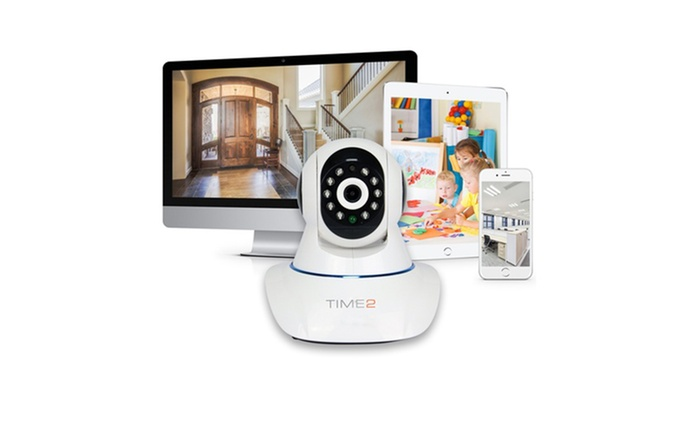 Rotating Wireless HD Home Security Camera with Night Vision from €54.99 With Free Delivery (Up to 71% Off)