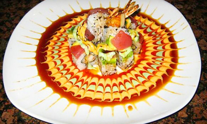 Blue Ocean Sushi & Asian Grill - Vista Ridge: $15 for $30 Worth of Hibachi Fare at Blue Ocean Sushi & Asian Grill in Lewisville