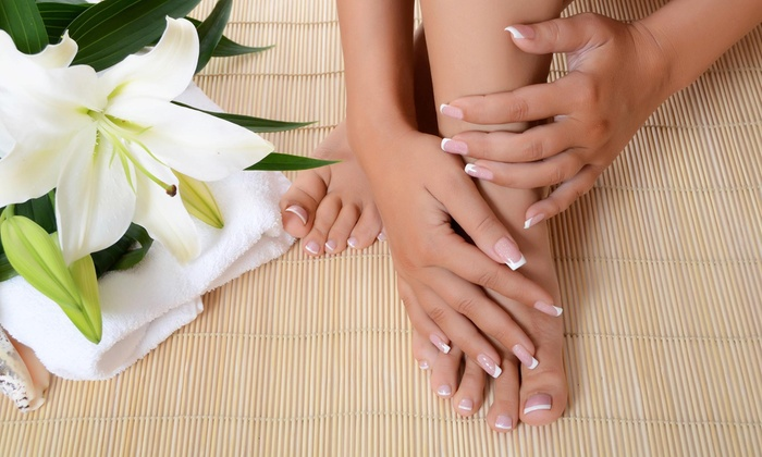 Oooh! That's Cute!! Nail Studio - Home Park: A Spa Manicure and Pedicure from Oooh! That's Cute!! Nail Studio (50% Off)