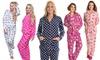 Angelina Women's Fleece Pajama Set