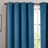 Jacquard Blackout-Curtain Panel Pair