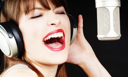image for Three One-Hour Singing Lessons at Northern Vocal Academy (61% Off)