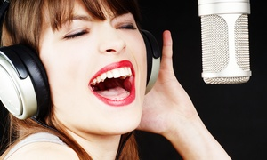 Singing Sydney: Private Singing Lessons - One ($35), Two ($65) or Three ($99) at Singing Sydney, Four Locations (Up to $414 Value)