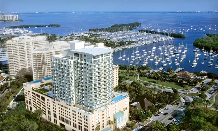 null - Miami: Stay with a $25 Hotel Credit at Sonesta Bayfront Hotel Coconut Grove in Miami, FL