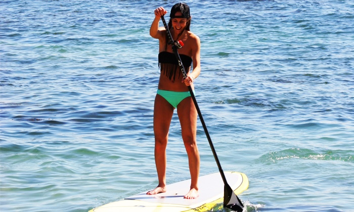 SUP Iowa - Oak Hill Marina: One or Three Standup Paddleboard Fitness Sessions at SUP Iowa (Up to 42% Off)