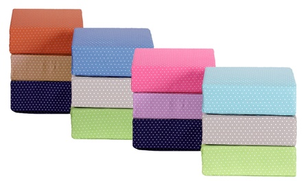 300-Thread-Count 100% Cotton Swiss-Dot Sheet Sets