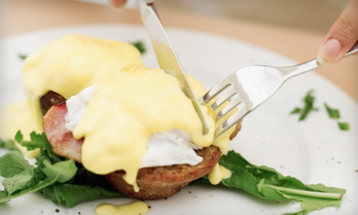 Lola - Downtown St. Louis: Saturday Brunch with Entrees and Bloody Mary or Mimosa Pitcher for Two or Four at Lola (Up to 51% Off)