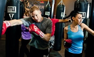 TITLE Boxing Club: $32 for Two Weeks of Unlimited Boxing and Kickboxing Classes with Hand Wraps at TITLE Boxing Club ($59.49 Value)