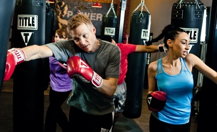 $29 for Two Weeks of Unlimited Boxing and Kickboxing Classes with Hand Wraps at TITLE Boxing Club ($59.49 Value)
