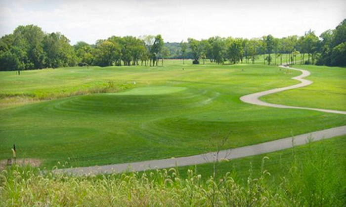 ClearCreek at The Practice Center - Franklin: Golf for Two or Four with Range Balls or Five Rounds at ClearCreek at The Practice Center (Up to 61% Off)