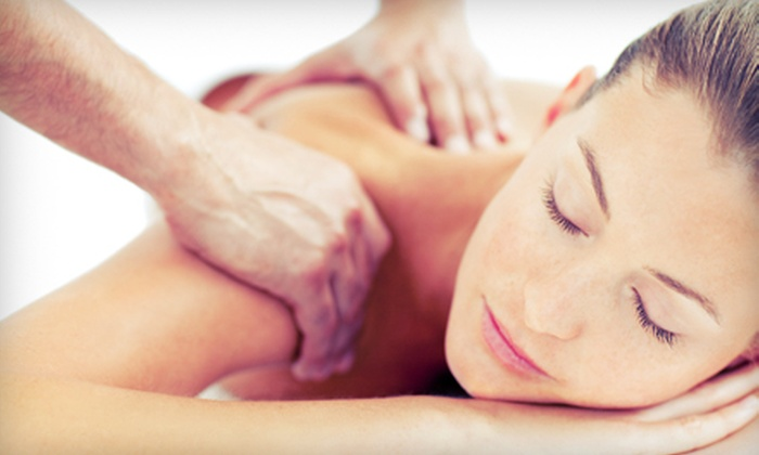 Sunrise Massage - Southampton: One or Three Back-Exfoliation Sessions with Back, Head, Neck, and Shoulder Massages at Sunrise Massage (Up to 63% Off)