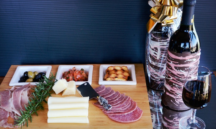 Chrisman Mill Winery - Hamburg Pavilion Tasting Room: Tapas and a Take-Home Chocolate-Dipped Bottle of Wine for Two or Four from Chrisman Mill Winery (Up to 58% Off)