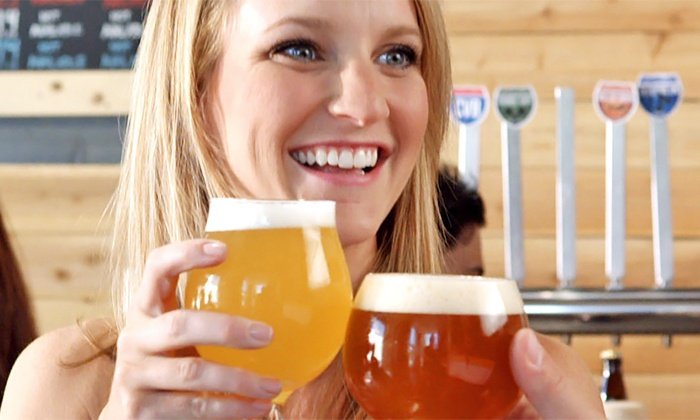 Coachella Valley Brewing Company - Thousand Palms: Craft Beer Package for Two or Four at Coachella Valley Brewing Company (Up to 40% Off)