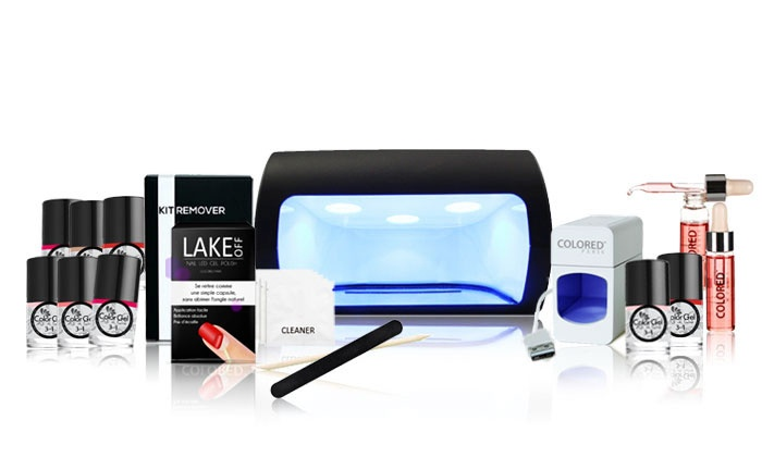 kit ongles lampe led