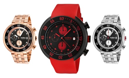 Red Line Driver Men's Standard or Chronograph Watch from $64.99–$79.99