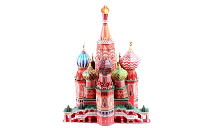 St. Basil's Cathedral 173-Piece 3D Puzzle