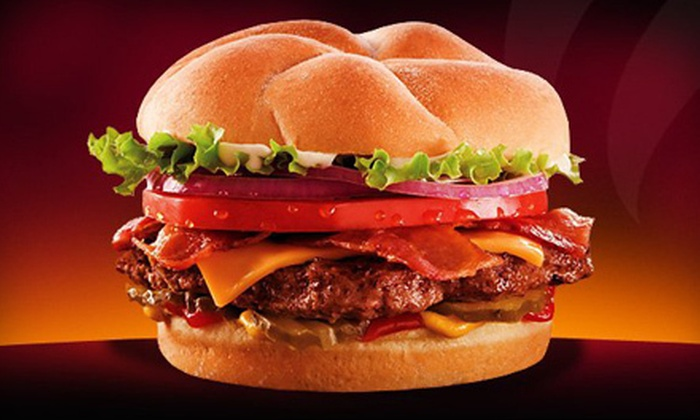 Back Yard Burgers Missouri - Multiple Locations: $5 for $10 Worth of Burgers, Sandwiches, and Drinks at Back Yard Burgers. 7 Locations Available.