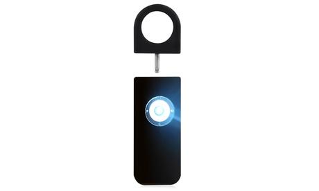 1x, 2x oder 3x persönlicher Outdoor-Alarm in Schwarz mit Signallicht
