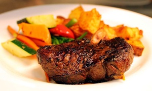 Ric's Lounge & Grill at Four Points Calgary Airport: Lunch or Dinner Cuisine for Two at Ric's Lounge & Grill at Four Points Calgary Airport (Up to 44% Off)