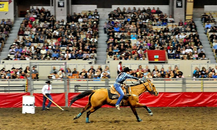 Grand National Rodeo - Cow Palace Arena and Event Center: $14 for One Ticket to the Grand National Rodeo  at Cow Palace on October 24 or 25 ($23.65 Value)