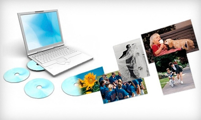 ScanMyPhotos.com: Photo-Scanning Package with Standard or High-Resolution Images on DVDs from ScanMyPhotos.com (Up to 70% Off)