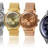 Adee Kaye Men's Stainless Steel Chronograph Watch
